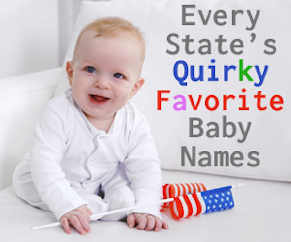 Quirky Favorite Baby Names by State