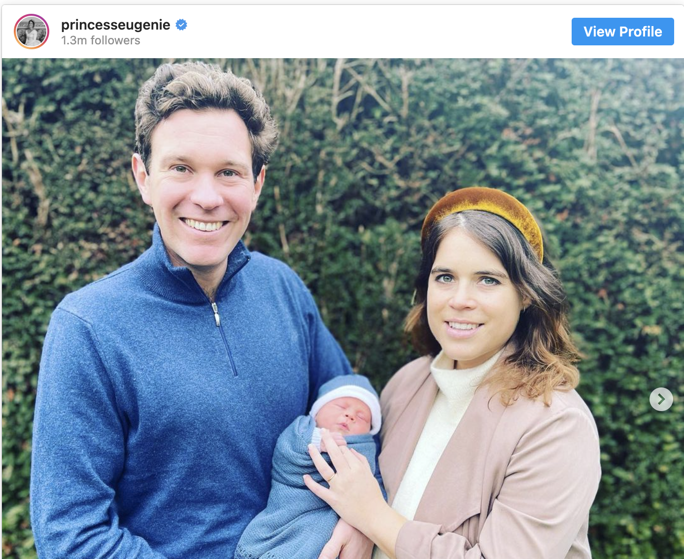 Princess Eugenie's Baby Name Is Here