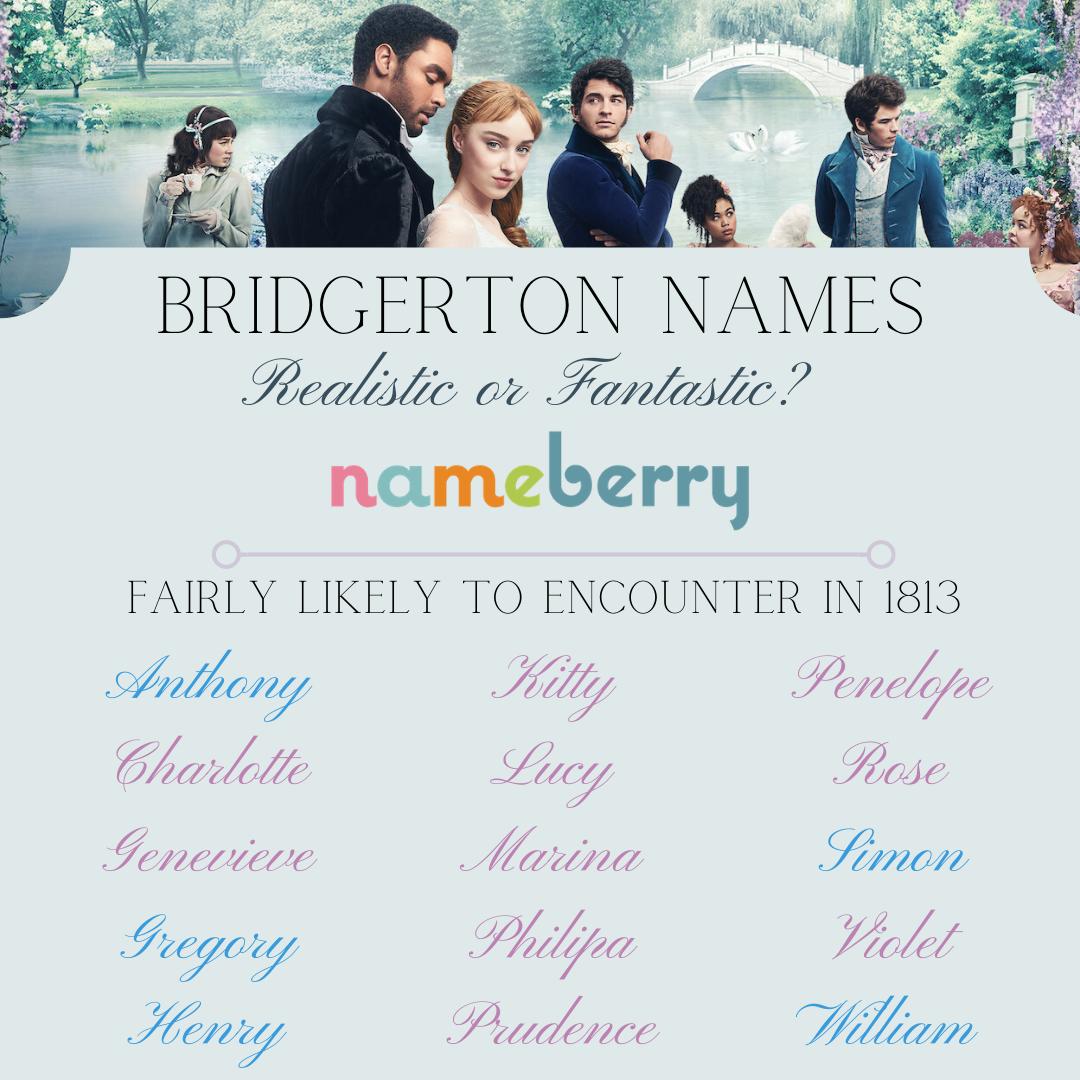 Bridgerton Names: Fantasy or historic reality?